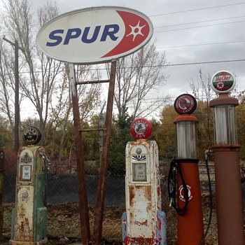 Spur Gasoline - Petroliana