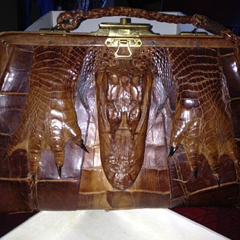 Vintage Alligator Purse  - Bags
