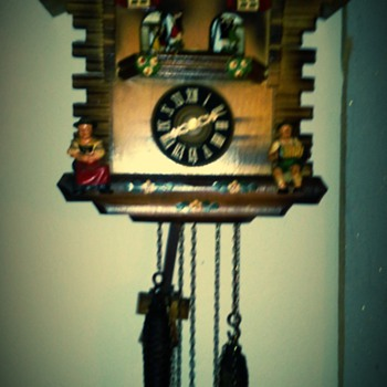 west germany cuckoo clock - Clocks