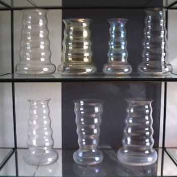 Vases O & OO by de Bazel - Art Glass