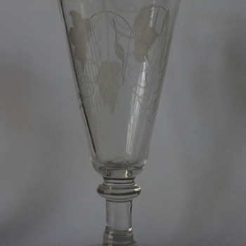 Early Ale Glass - Art Glass