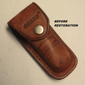 'SHARP 200' LEATHER SHEATH - Tools and Hardware