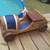 Yard Sale Planters Peanut Car