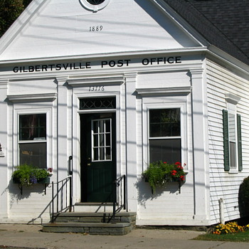 Antique Post Office, Gilbertsville NY - Office