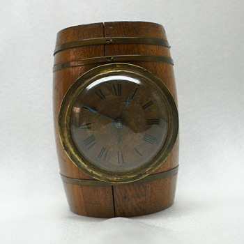 Barrell Clock - New Haven