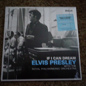 Elvis Presley with the Royal philharmonic orchestra  - Records