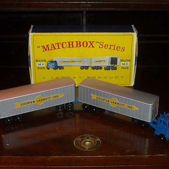 Matchbox Major Pack M-9 Inter-State Double Freighter