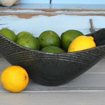 Studio Art Ceramic Bowl from Japan