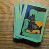 antique doggie playing cards two decks RARE GOODALL Thomas De La Rue and Co LTD London