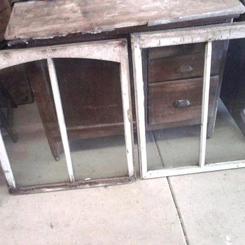 Over 100 yr old windows with wavy glass - Furniture
