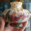 Got Help on This Colorful Little Vase..WELZ, Czech DECO GLASS!