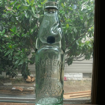Bottle with Marble - Bottles