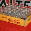 coca cola miniature crate