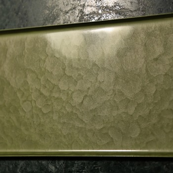 Moire Glaze Small Tray from Pasadena - Arts and Crafts
