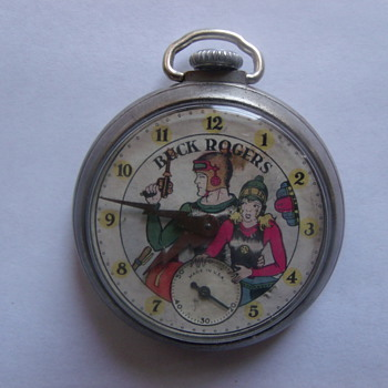 1935 Ingraham &quot;Buck Rogers&quot; Pocketwatch
