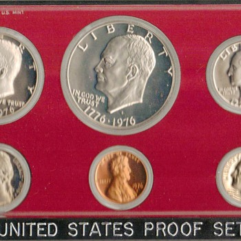 1976 S - U.S. Proof Coins Set - US Coins