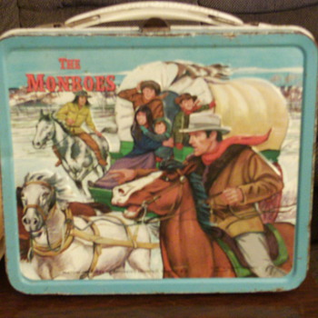 1967 The Monroes Lunchbox by Aladdin.