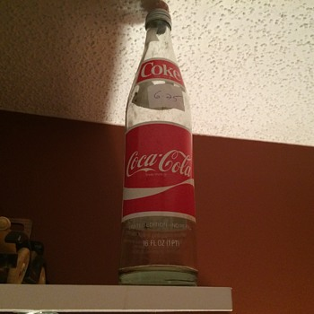 Coca Cola Publix 50 years bottle 1930-1980.