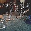 Imperial and Fostoria Glass Menagerie/ Circa 1940's 50's 60's