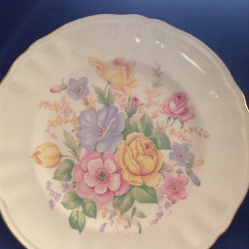 Ageless painted plate