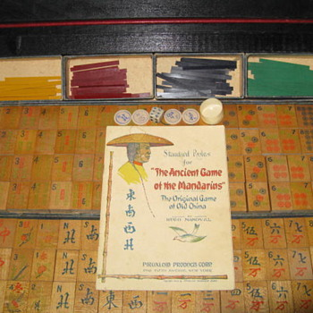 Old Family Mahjong Set - Games