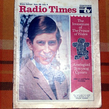 1969-bbc-tv/radio programmes guide-weekly issue-'radio times'. - Paper