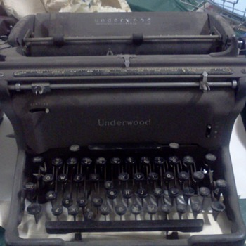 typewriters i found