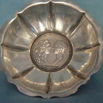Coin dishes? - Sterling Silver