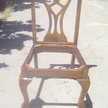 Salvaged chairs