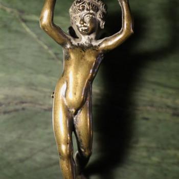 Bronze Angel - Fragment from something... - Visual Art