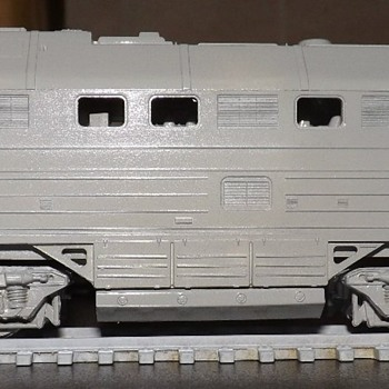 Diesel locomotive 2te116u - Model Trains