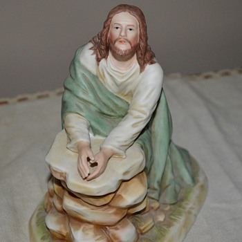Home Interiors & Gifts Jesus Kneeling in the Garden Figurine