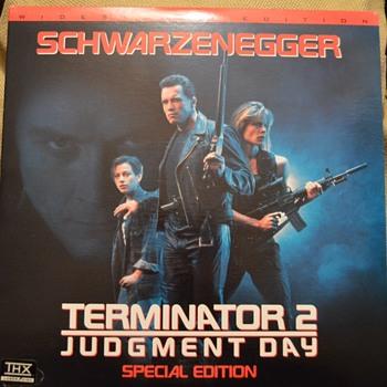 Terminator T2 laserdisc