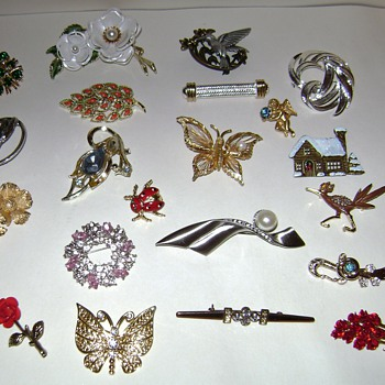 Assorted Pins and Brooches
