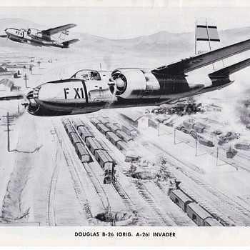 Douglas A-26/B-26 Bomber - Advertising
