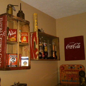 My son's new display - Coca-Cola
