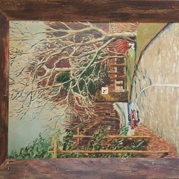 Impressionist Oil on Canvas Signed TJM - Visual Art