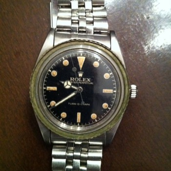 Dad&#039;s Rolex Turn-O-Graph A 260