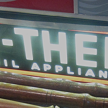 1940s DUO - THERM neon sign
