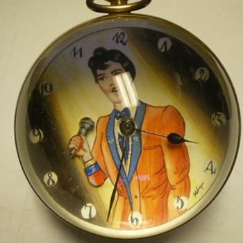 Elvis Presley Tissot Clock - Music