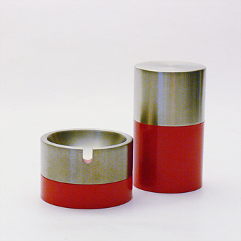 OSLO ashtrays and cigarette-box, André Ricard (1968)