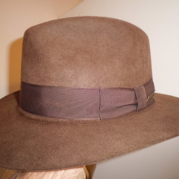 ok aint that old but Indiana Jones fedora !!