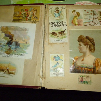 victorian trade cards - Advertising