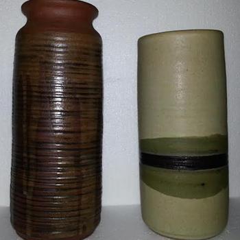 Peg Tootelian Pottery Vases - Mid-Century Modern