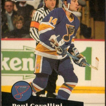 1991 - Hockey Cards (St. Louis Blues)