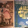 "VINTAGE SHEET MUSIC WITH ADORABLE KIDS ON IT! Both 1919 Waltzes""SWEETHEARTS"" & ""LULLABY BLUES"""