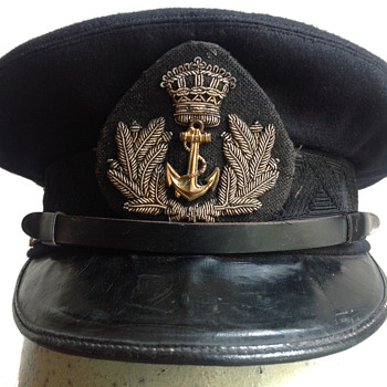 Dutch Navy Officer's Hat