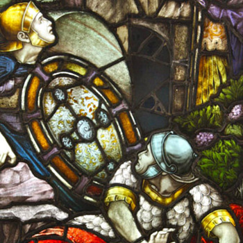 19th C. Stained Glass Heaton, Butler, & Bayne (London) Window - Art Glass