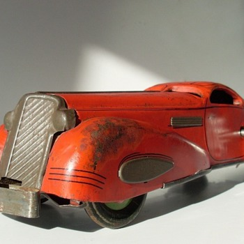 '30s Marx reversible coupe - Model Cars