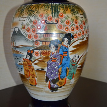 Japanese Satsuma Vase - Early 20th Century ?